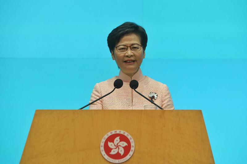 林鄭月娥率團赴京出席中國共產黨成立100周年慶祝活動